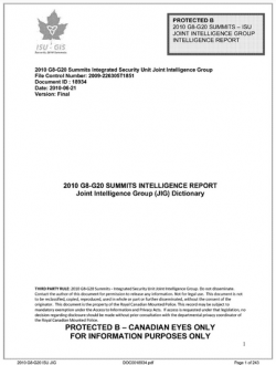 DOCUMENT: G20 Domestic Groups of Concern - from OCAP to Oxfam