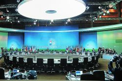 The Seoul G20 conference room