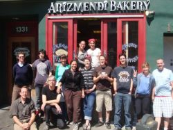 Arizmendi Bakery exemplifies the principle of cooperatives working in solidarity