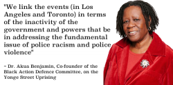 Dr. Akua Benjamin on the Yonge Street Uprising of May 4, 1992