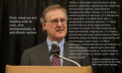 Stephen Lewis on anti-Black racism and the Yonge Street Uprsing of may 4, 1992