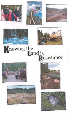 Knowing the Land is Resistance - zine now available!